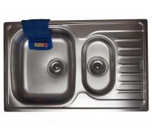 Кухонная мойка стальная POLAR PXL 651-78