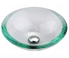 Раковина из прозрачного стекла  KRAUS